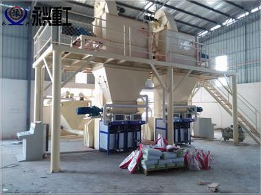时产5吨干粉砂浆生产线