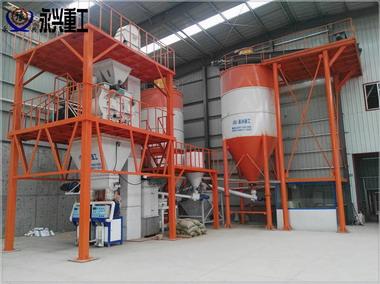 年产20万吨干粉砂浆生产线