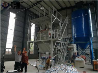 年产10万吨全自动干粉砂浆生产线