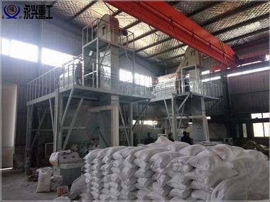 半自动保温砂浆生产线