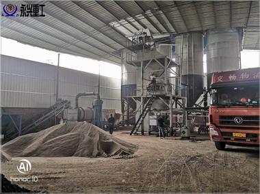 年产10万吨砂浆生产线