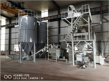 时产15吨特种砂浆生产线