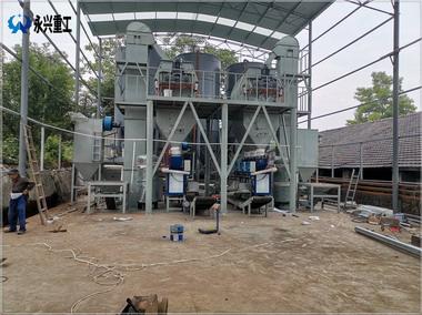 耐磨地坪专用生产线