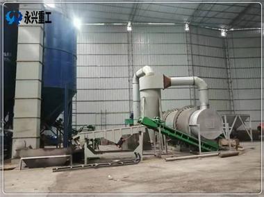 重庆干粉砂浆全套生产设备投产