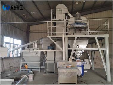 安徽合肥嘉隆建材时产15吨砂浆生产线交付