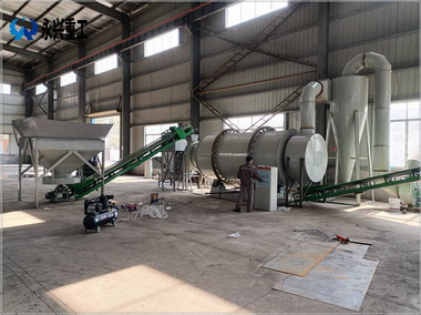 湖北简易型砂浆生产线全套设备交付