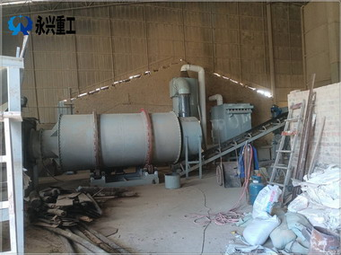 广西南宁时产10吨砂子烘干机