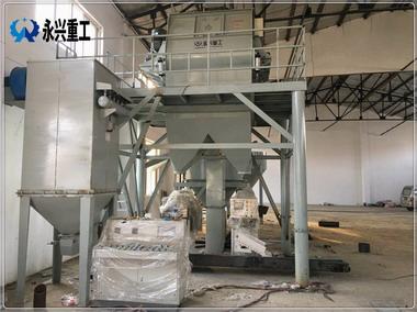 天津自动化特种砂浆生产线投产