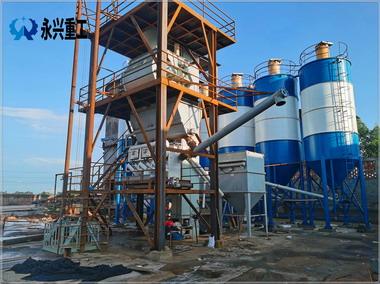 四川乐山荣兴建材自动化水泥膨胀剂生产线建成投产