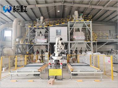 时产20吨全自动干粉砂浆生产线