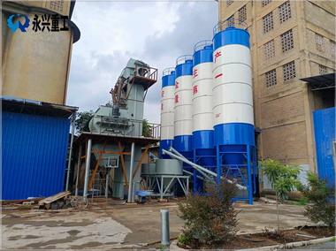 广西南宁御龙建材水泥膨胀剂生产线投产