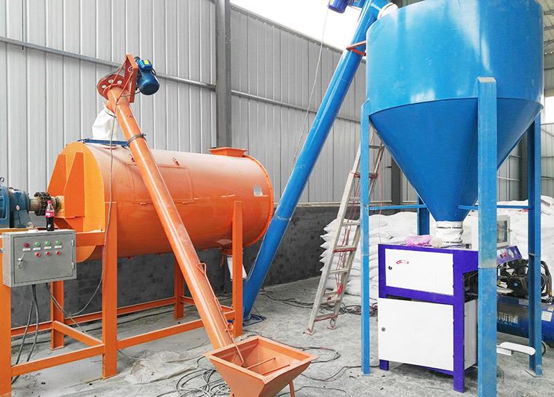 简易型砂浆生产线