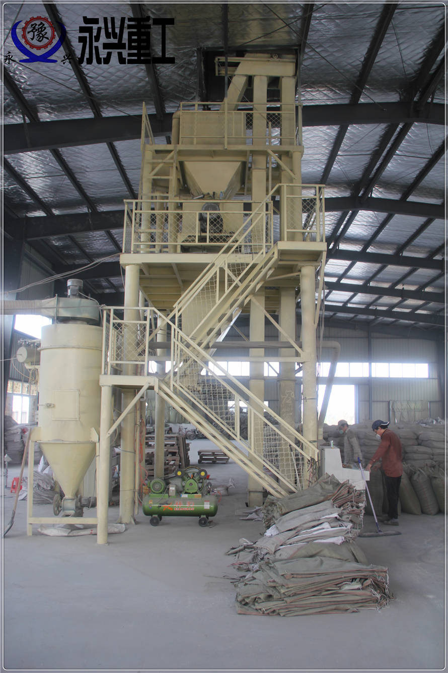 轻质石膏保温砂浆生产线