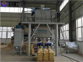 自动配料砂浆生产线