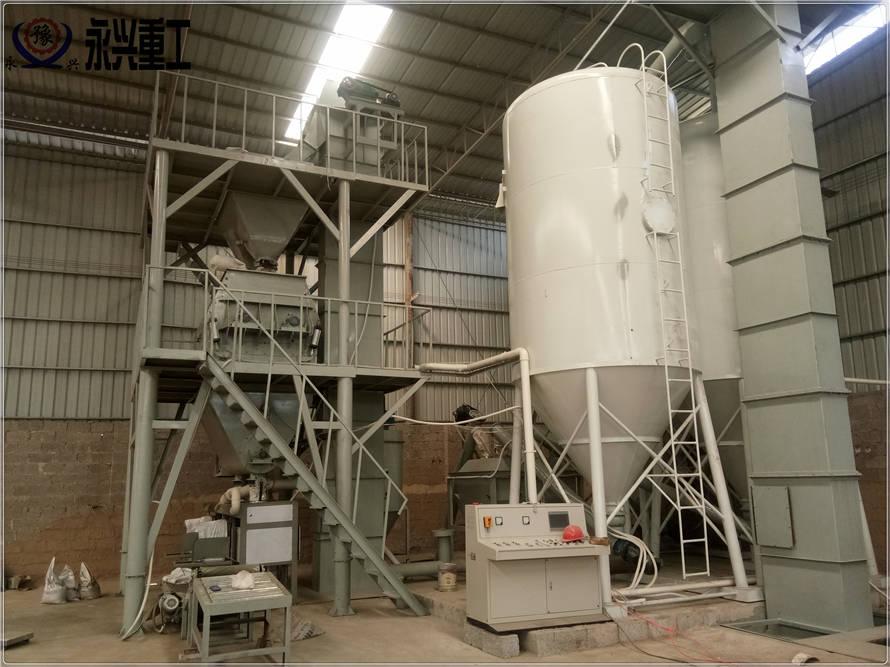 时产30吨干粉砂浆生产线