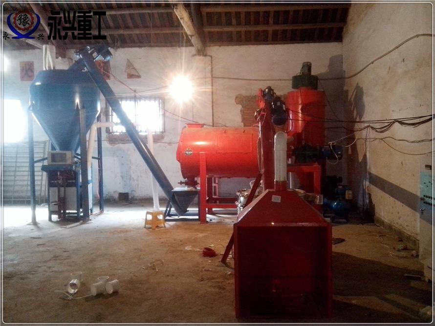 简易型时产3吨腻子粉生产设备