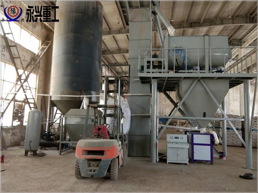 耐磨砂浆生产线