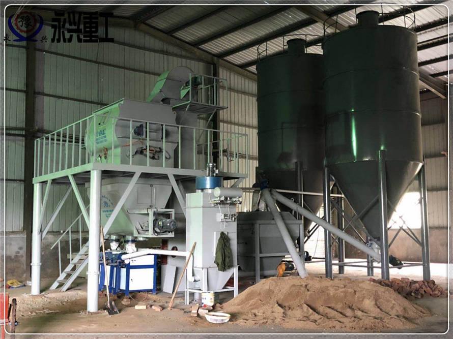 年产5万吨干粉砂浆生产设备