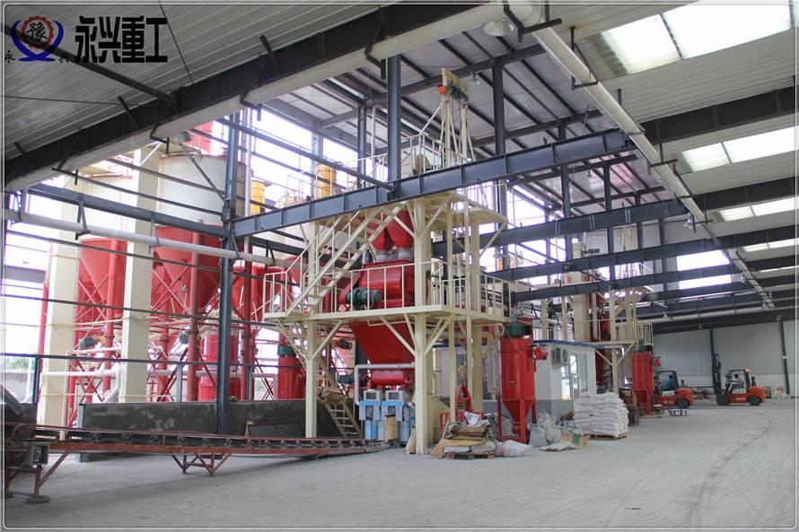 全自动干粉砂浆生产线