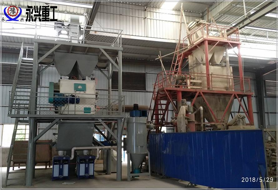 玻化微珠保温砂浆生产线
