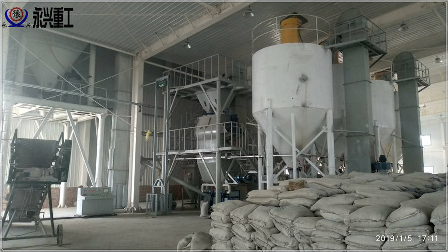 全自动砂浆添加剂生产线